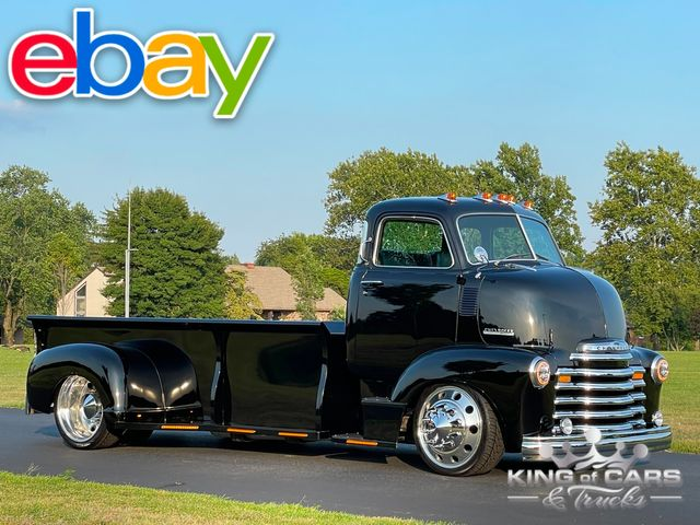 1947 Chevrolet Cabover Dually RESTORED CUSTOM SHOW TRUCK AIR RIDE A/C & MORE