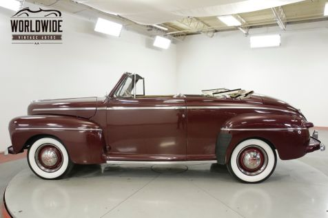 1947 Ford DELUXE FLAT HEAD V8 MANUAL TRANSMISSION SOFT TOP | Denver, CO | Worldwide Vintage Autos in Denver, CO