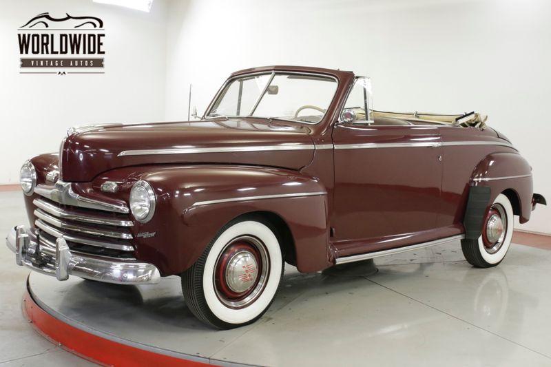1947 Ford DELUXE FLAT HEAD V8 MANUAL TRANSMISSION SOFT TOP | Denver, CO | Worldwide Vintage Autos