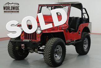 1947 Jeep WILLYS ORIGINAL STEEL BODY  | Denver, CO | Worldwide Vintage Autos in Denver CO