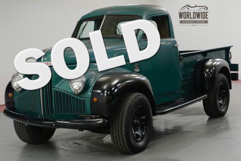 1947 Studebaker TRUCK M2. CUMMINS 4BT TURBO DIESEL, 5 SPEED!  | Denver, CO | Worldwide Vintage Autos in Denver, CO