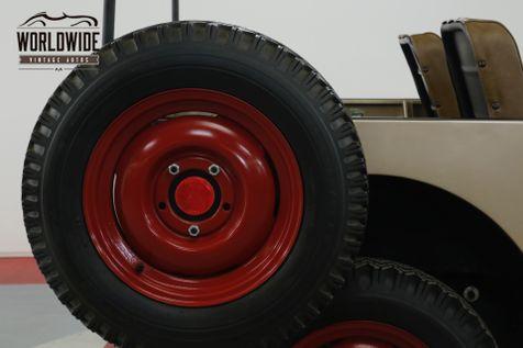 1946 Willys CJ2A ORIGINAL CIVIL DEFENSE JEEP | Denver, CO | Worldwide Vintage Autos in Denver, CO