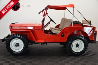 1947 Willys CJ2A 4X4 RARE OVERDRIVE RESTORED in Statesville NC, 28677