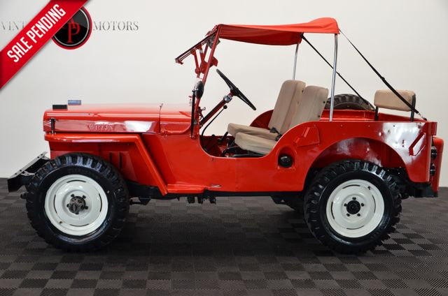 1947 Willys CJ2A 4X4 RARE OVERDRIVE RESTORED