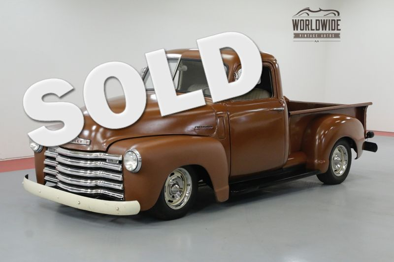 1948 Chevrolet 3100 HOT ROD 350 CRATE 4 WHEEL DISC HEIDTS 700R4 | Denver, CO | Worldwide Vintage Autos