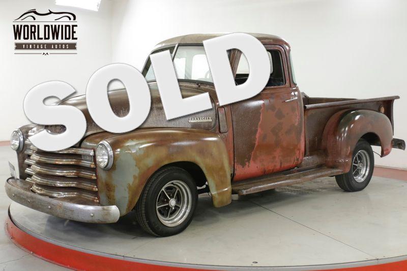 1948 Chevrolet 3100 RARE 5 WINDOW AUTO PATINA DISC RAT ROD  | Denver, CO | Worldwide Vintage Autos