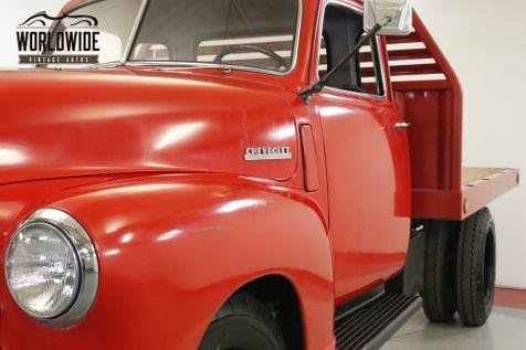 1948 Chevrolet 3100 5 WINDOW 3/4 TON FLATBED INLINE 6 CYL RARE | Denver, CO | Worldwide Vintage Autos in Denver, CO