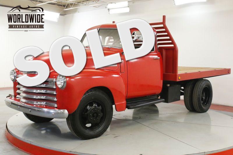 1948 Chevrolet 3100 5 WINDOW 3/4 TON FLATBED INLINE 6 CYL RARE | Denver, CO | Worldwide Vintage Autos