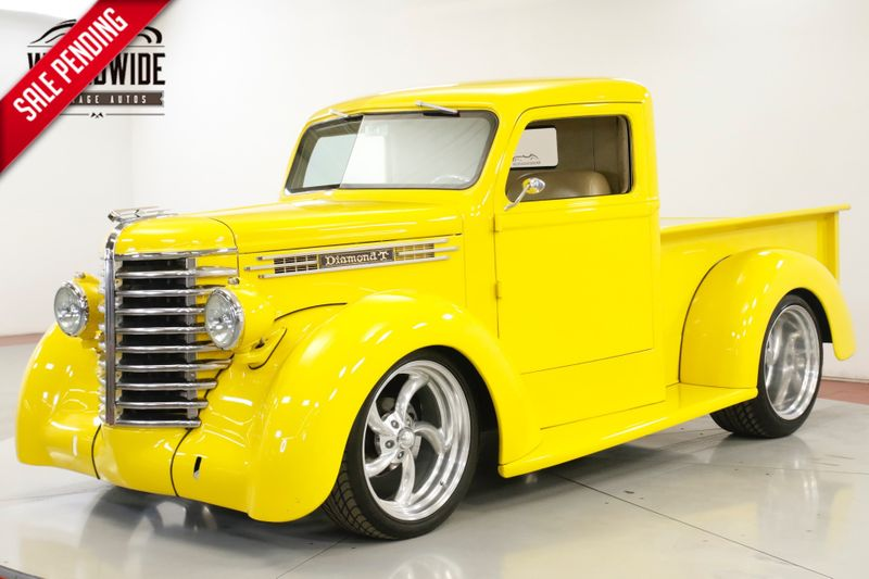 1948 Diamond T TRUCK FUEL INJECTED RESTOMOD AC LEATHER DISC | Denver, CO | Worldwide Vintage Autos