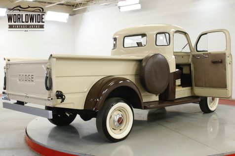 1948 Dodge TRUCK B1C PILOT HOUSE 5 WINDOW RESTORED RARE  | Denver, CO | Worldwide Vintage Autos in Denver, CO