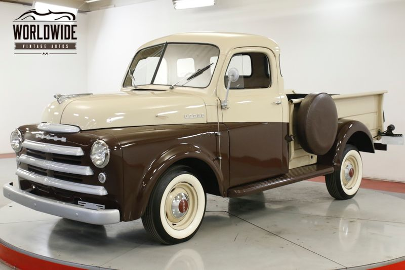 1948 Dodge TRUCK B1C PILOT HOUSE 5 WINDOW RESTORED RARE  | Denver, CO | Worldwide Vintage Autos