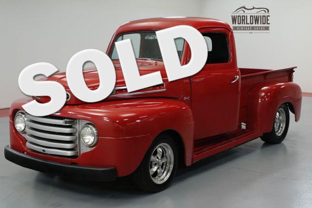 1948 Ford F100 SHORT BED. HOT ROD. V8! 4100 MILES! AUTO  | Denver, CO | Worldwide Vintage Autos in Denver CO