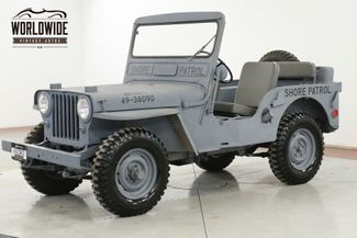 1948 Jeep WILLYS CJ 2A RESTORED NEW PAINT AND INTERIOR SHOW READY  | Denver, CO | Worldwide Vintage Autos in Denver CO