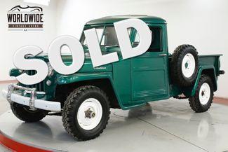 1948 Jeep WILLYS RESTORED REBUILT MOTOR 4x4 COLLECTOR 50 MI | Denver, CO | Worldwide Vintage Autos in Denver CO