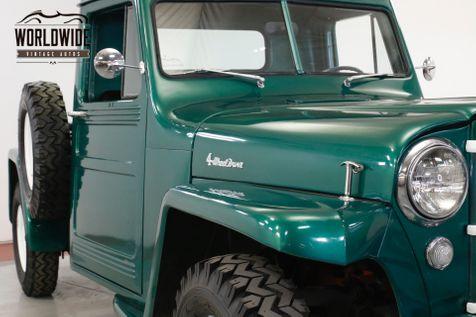 1948 Jeep WILLYS RESTORED REBUILT MOTOR 4x4 COLLECTOR 50 MI | Denver, CO | Worldwide Vintage Autos in Denver, CO