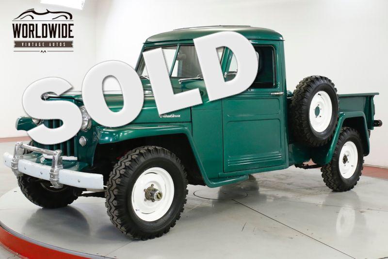 1948 Jeep WILLYS RESTORED REBUILT MOTOR 4x4 COLLECTOR 50 MI | Denver, CO | Worldwide Vintage Autos