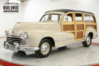 1948 Oldsmobile WOODY WAGON RARE AND RESTORED STRAIGHT 8 AUTO | Denver, CO | Worldwide Vintage Autos in Denver CO