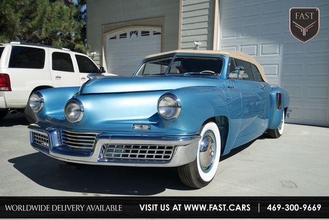 1948 Tucker Convertible 1 of 1 Prototype Only 10 ORIGINAL MILES! in Rowlett