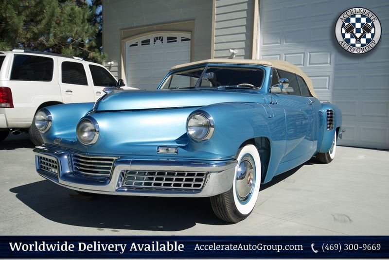 1948 Tucker Convertible 1 of 1 Prototype Only 10 ORIGINAL MILES! in Rowlett Texas
