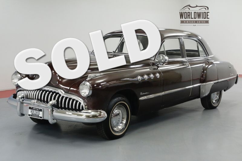 1949 Buick ROADMASTER 4 DOOR SEDAN. DRY COLLECTOR. LOTS OF CHROME. RARE | Denver, CO | Worldwide Vintage Autos