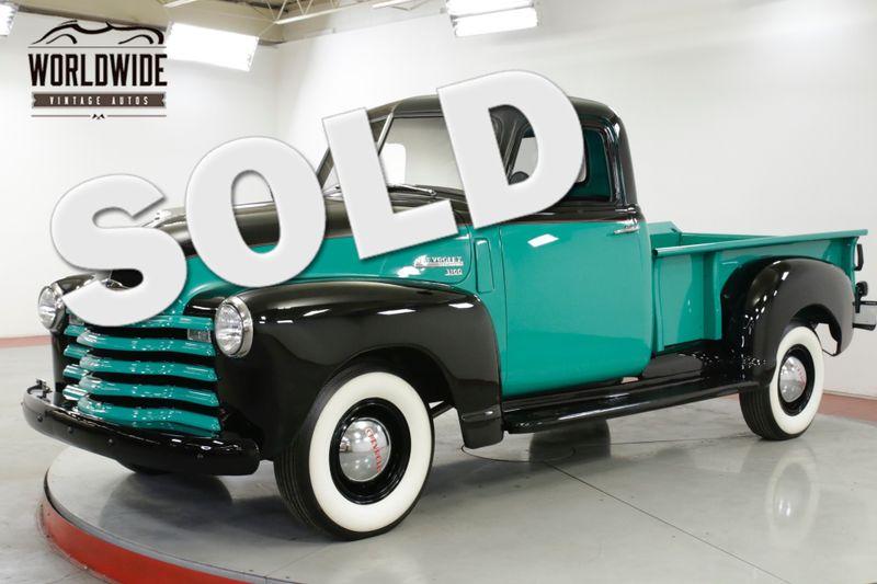 1949年 シボレー 3100 ピックアップ