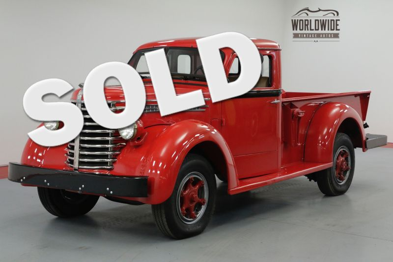 1949 Diamond T TRUCK 201. RESTORED. COLLECTOR. 2 OWNER CA TRUCK! | Denver, CO | Worldwide Vintage Autos