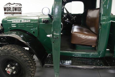 1949 Dodge POWER WAGON STOCK 4X4. INLINE 6 CYLINDER. 10,000 LB WINCH | Denver, CO | Worldwide Vintage Autos in Denver, CO