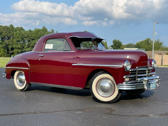 1949 Plymouth Club Coupe SPECIAL DELUXE P18 36K ORIGINAL MILES WOW