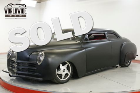 1949 Plymouth DELUXE 425 CADILLAC MOTOR! A/C AIR RIDE CHOPPED | Denver, CO | Worldwide Vintage Autos in Denver, CO