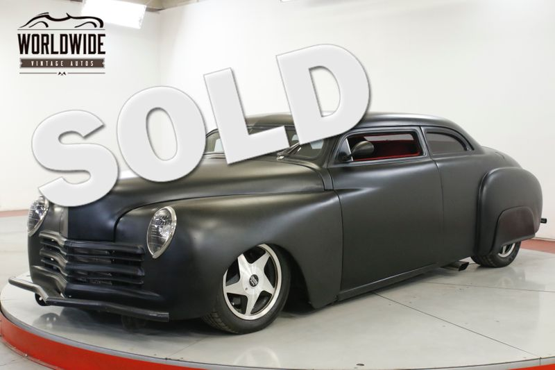 1949 Plymouth DELUXE 425 CADILLAC MOTOR! A/C AIR RIDE CHOPPED | Denver, CO | Worldwide Vintage Autos