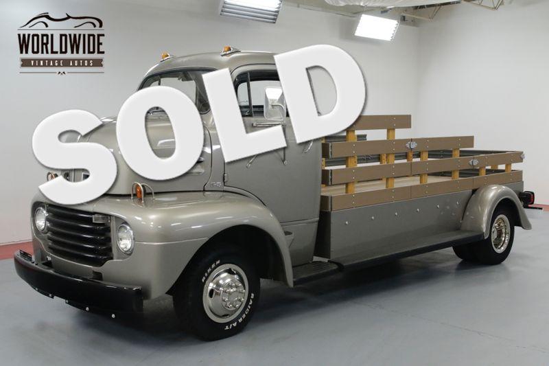 1950 Ford COE RESTORED! RARE COE SNUB NOSE! HAULER! CUSTOM.   Denver, CO   Worldwide Vintage Autos