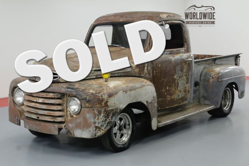 1950 Ford F1 RAT ROD S10 CHASSIS. V6 POWER. AUTO A/C! | Denver, CO | Worldwide Vintage Autos