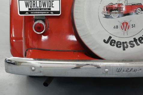 1950 Willys JEEPSTER CONVERTIBLE WHITE WALLS SOFT TOP MUST SEE | Denver, CO | Worldwide Vintage Autos in Denver, CO