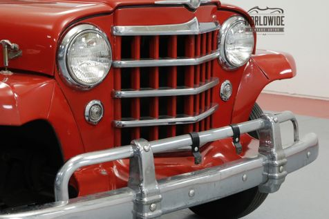 1950 Jeep JEEPSTER FLATHEAD 6 CYLINDER CONVERTIBLE MUST SEE   Denver, CO   Worldwide Vintage Autos in Denver, CO