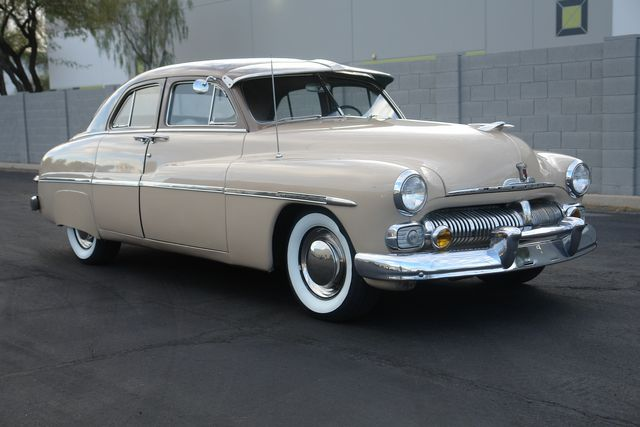 1950 Mercury 8 4-Door