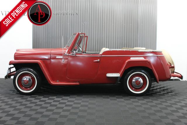1950 Willys Jeepster RARE I6 MOTOR CONTINENTAL KIT OVERDRIVE
