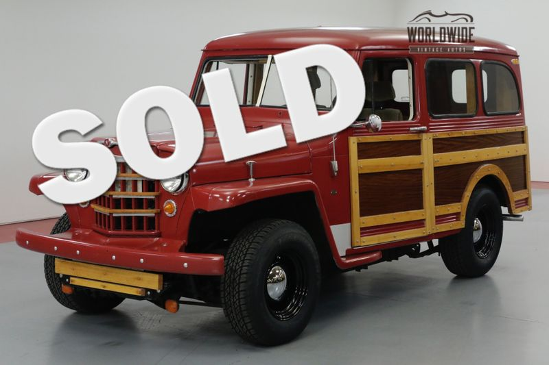 1950 Willys WAGON WOODY. CUSTOM. TOYOTA DRIVE TRAIN. MUST SEE! | Denver, CO | Worldwide Vintage Autos
