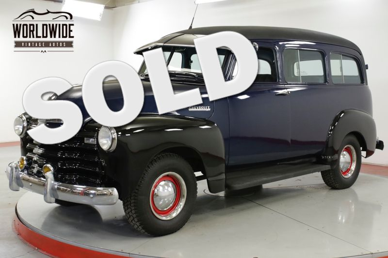 1951 Chevrolet SUBURBAN RARE COLLECTOR CA TRUCK! CARRYALL 16K MILES | Denver, CO | Worldwide Vintage Autos