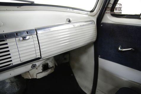 1951 Chevrolet SUBURBAN SPLIT WINDSHIELD 4-SPEED MANUAL 216 INLINE 6  | Denver, CO | Worldwide Vintage Autos in Denver, CO
