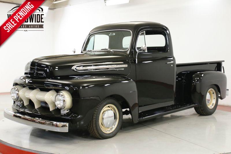 1951 Ford F1 RESTOMOD.FRAME OFF RESTORED. LEATHER AC DISC   Denver, CO   Worldwide Vintage Autos