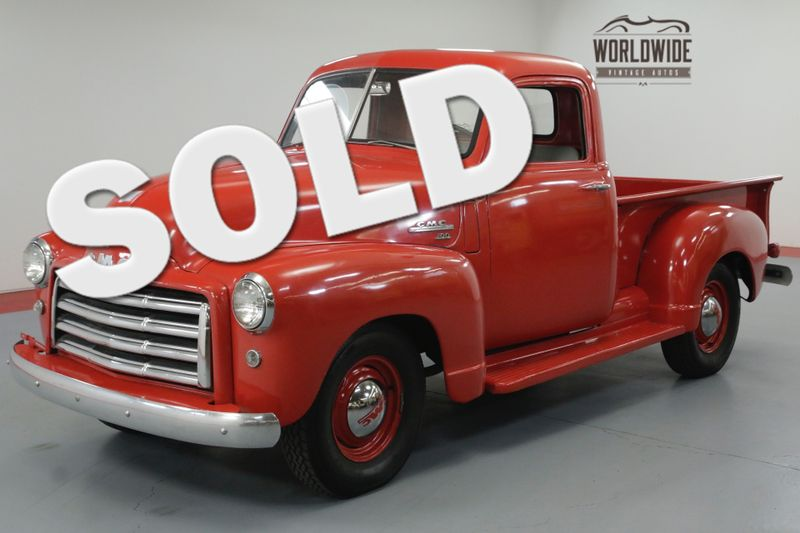 1951 GMC 100 FRAME OFF RESTORED. 4 SPEED. 12 VOLT. RARE!  | Denver, CO | Worldwide Vintage Autos