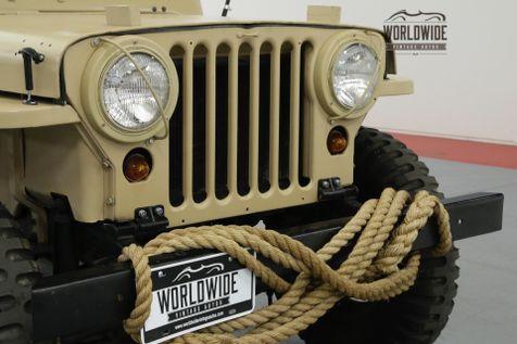1951 Jeep M38 RESTORED REAL M38 4X4!! RARE VINTAGE 4x4. | Denver, CO | Worldwide Vintage Autos in Denver, CO