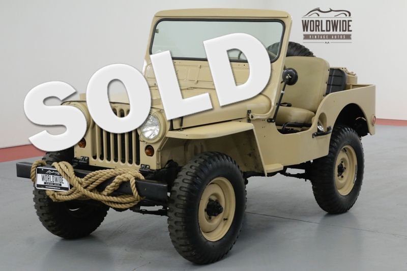 1951 Jeep M38 RESTORED REAL M38 4X4!! RARE VINTAGE 4x4. | Denver, CO | Worldwide Vintage Autos