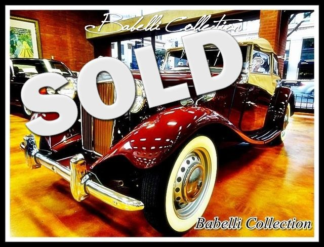 1951 Mg TD La Jolla, Califorina