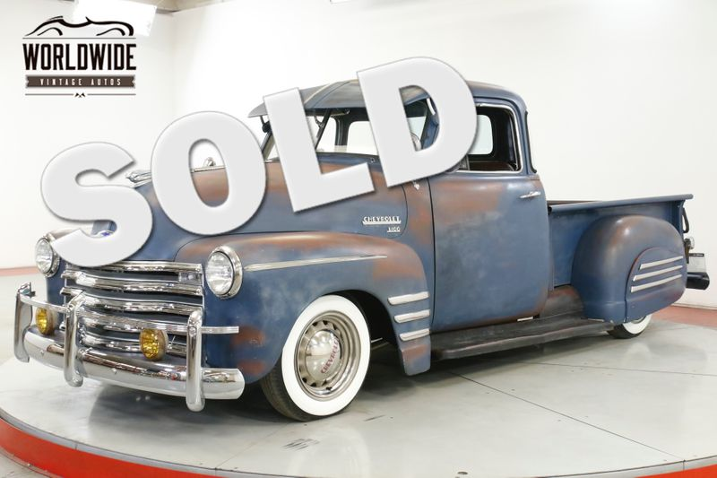 1952 Chevrolet TRUCK 5 WINDOW INCREDIBLE PATINA RARE TRIM CHROME | Denver, CO | Worldwide Vintage Autos