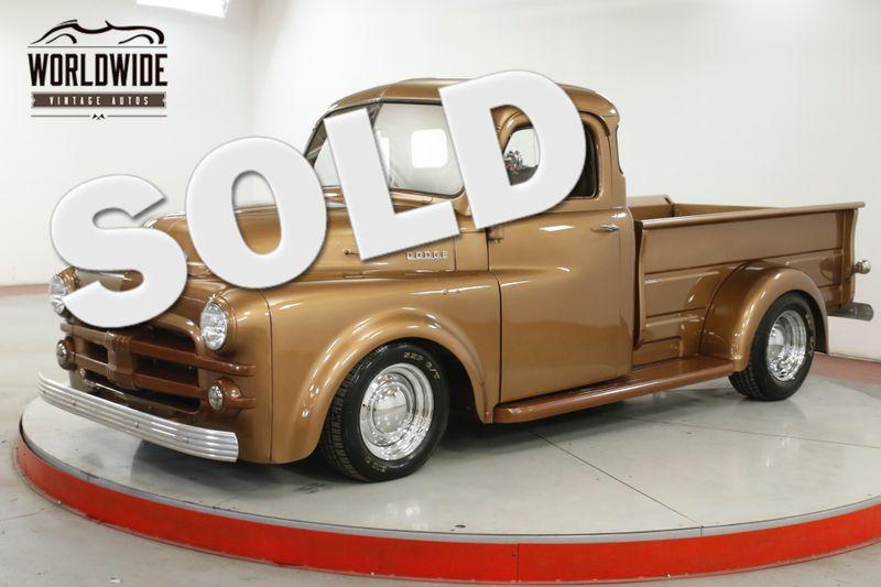 1952 Dodge B100 RESTORED 350 V8 AUTOMATIC RARE STEPSIDE | Denver, CO | Worldwide Vintage Autos