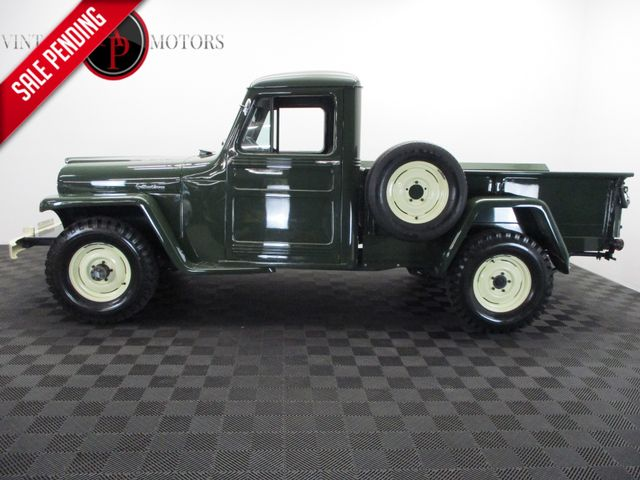 1952 Jeep Willys 44,000 MILES RESTORED