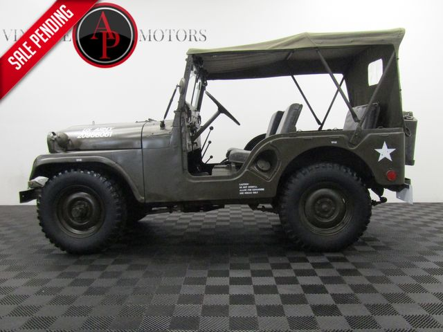 1952 Jeep WILLYS M38 PARADE JEEP