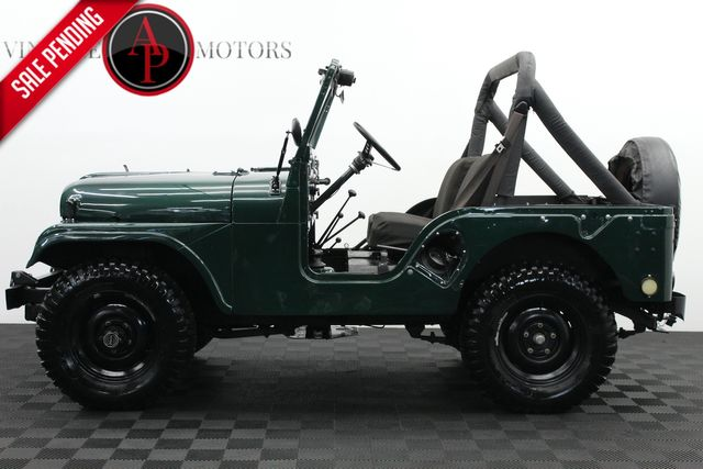 1952 Jeep Willys M38A WITH OVERDRIVE