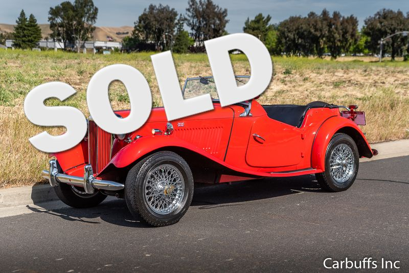 1952 Mg TD  | Concord, CA | Carbuffs